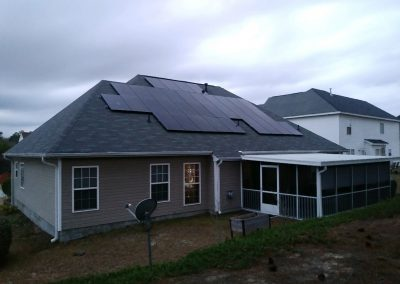 RESIDENTIAL SOLAR INSTALL COMPLETE