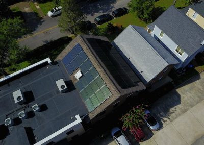 AERIAL VIEW OF COMPLETED PROJECT