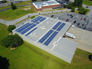 INSTALL COMPLETE ON SOLAR COMMERCIAL