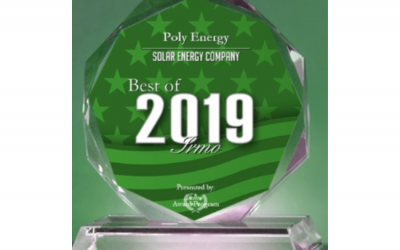Poly Energy Receives 2019 Best of Irmo Award